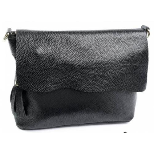 Женский кожаный клатч 83D6-2 Черный
