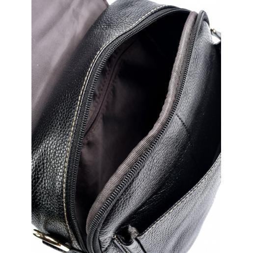 Женский клатч из натуральной кожи 03D20-4 Черный