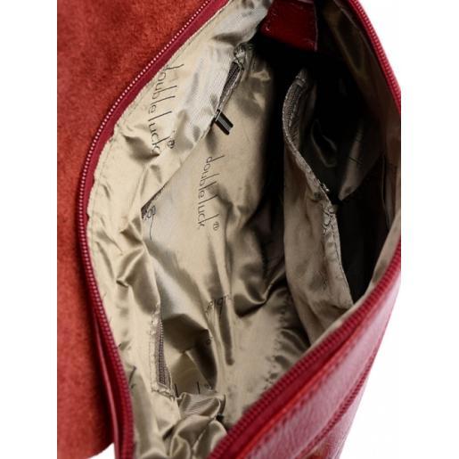 Женский кожаный клатч 83D6-1 Красный