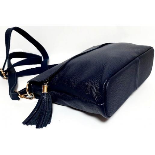 Женский кожаный клатч 83D6-4 Синий