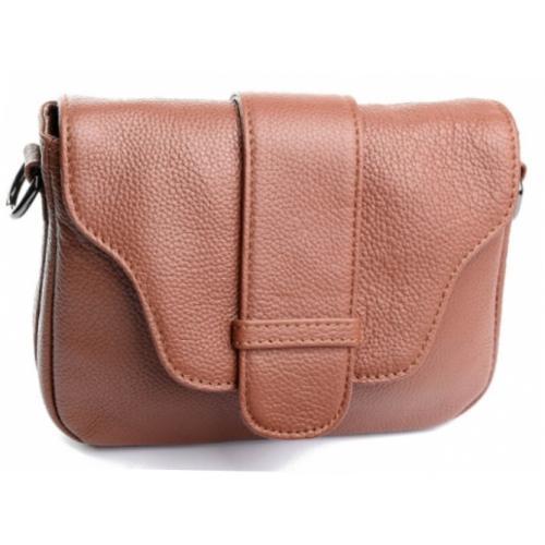 Женская кожаная сумочка на плечо K11D02-4 Коричневый