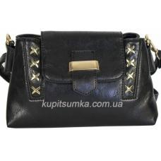 Женская сумка из кожзаменителя 61D40 black