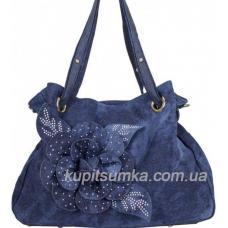 Женская сумка из джинсы Vittoria 190D Синий