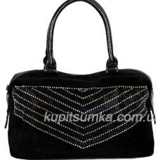 Женская сумка из замши DO80-042 Черный
