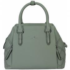 Женская сумка из кожзаменителя зеленая 189D-3