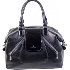 Женская сумка из кожзаменителя 879D82-1 black