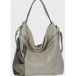 Женская сумка из кожзаменителя 61Д419-10 Бежевый