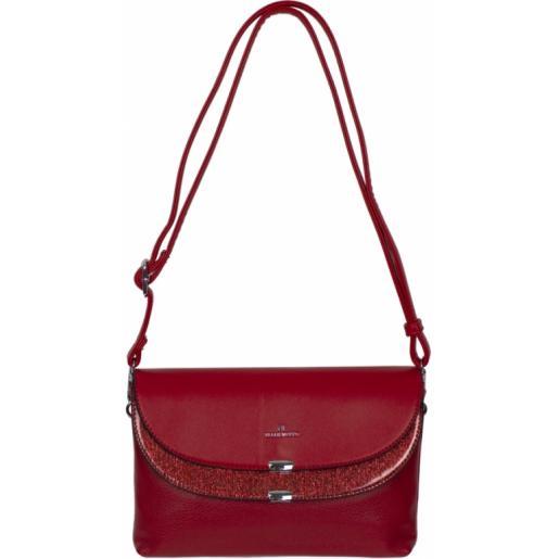 Женская сумочка-клатч из эко кожи 901D-1 red