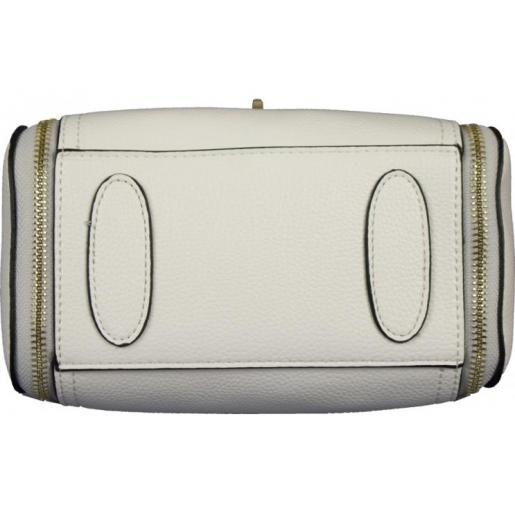 Женская сумка из кожзаменителя 07D41-2 white