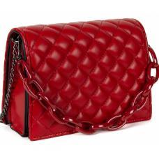 Женская сумка из кожзаменителя 60D3-2 Red