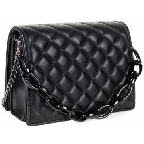 Женская сумка из кожзаменителя 60D3-1 Black