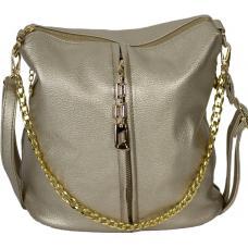 Женская сумка кросс-боди из кожзаменителя 0-02D-5 golden
