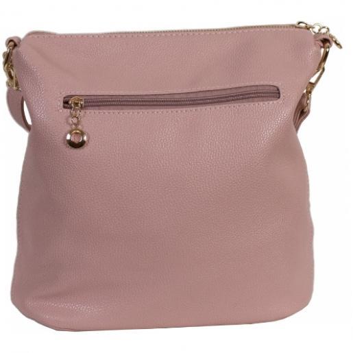 Женская сумка из экокожи 0-02D-2 Розовый
