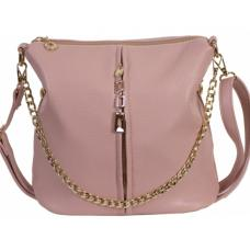 Женская сумка из кожзаменителя 0D002-2 Pink
