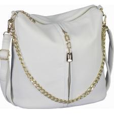 Женская сумка кросс-боди из эко кожи белая 0-02D-3