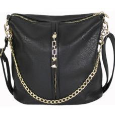 Женская сумка из кожзаменителя 0D002-1 Black