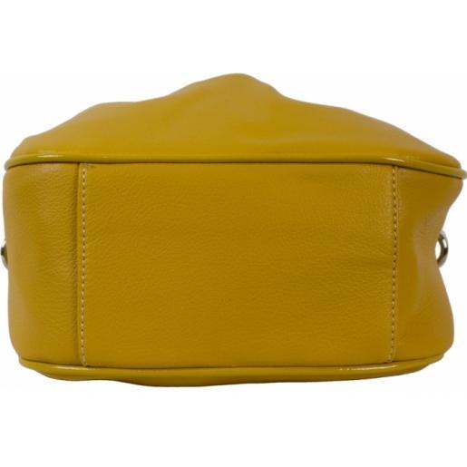 Сумка-мессенджер из кожзаменителя D87D826-1 Yellow