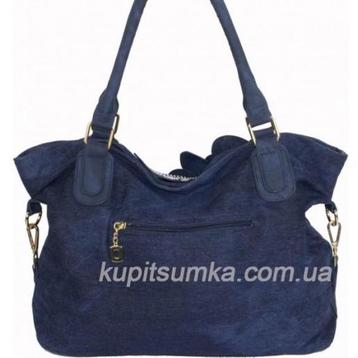 Женская сумка из денима Vittoria 189D Синий