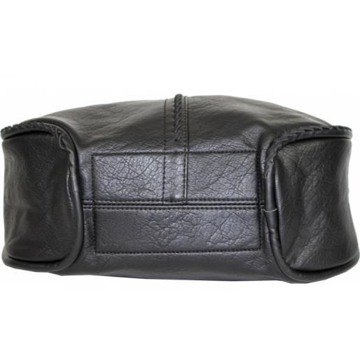 Женская сумка из кожзаменителя D83-1Black