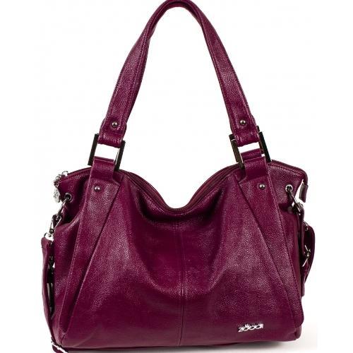 Женская сумка из эко кожи 52D39-1 violet