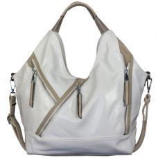 Женская сумка из кожзаменителя 700D-1 white