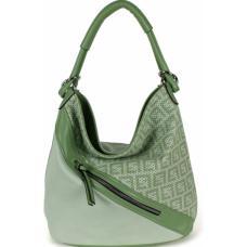 Женская сумка зеленая из эко кожи 703D-1