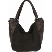Женская сумка из замши и кожзаменителя 10D80-1 Коричневый