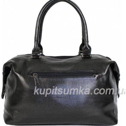 Женская сумка из замши чорна DO80-042