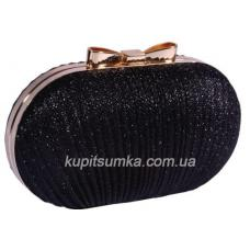 Вечерний клатч стильного дизайна 44U3 Черный