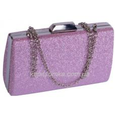 Праздничный клатч пурпурного цвета 75U59