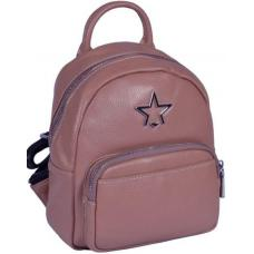 Кожаный женский рюкзак 37U3-6 Pink