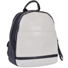 Женский кожаный рюкзак 66U10-18 Black