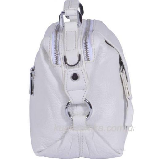 Женская кожаная сумка 51U13 Белый