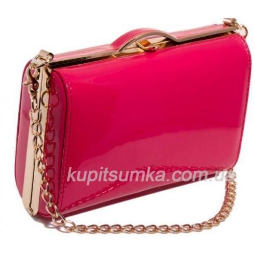 Женский клатч из кожзаменителя 703-1U pink