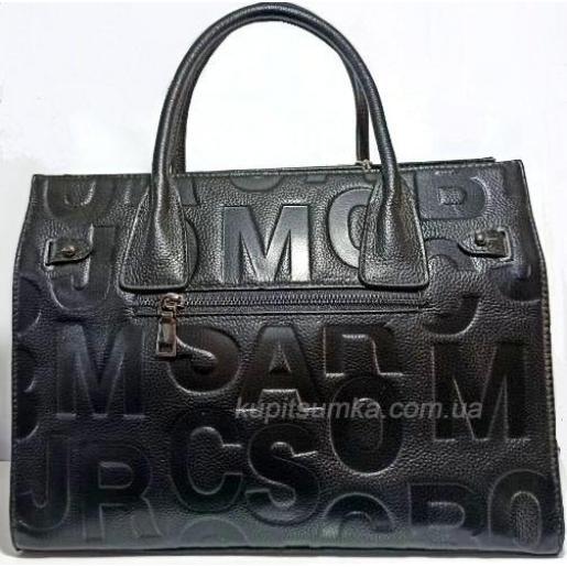 Женская сумка из натуральной кожи R122U Черный
