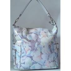 Кожаная сумка для женщин 92U3-3 Белый