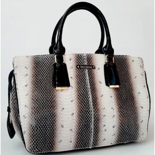 Женская сумка из натуральной кожи VF 51U2 Бежевый
