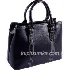 Женская сумка из натуральной кожи черная 31И06