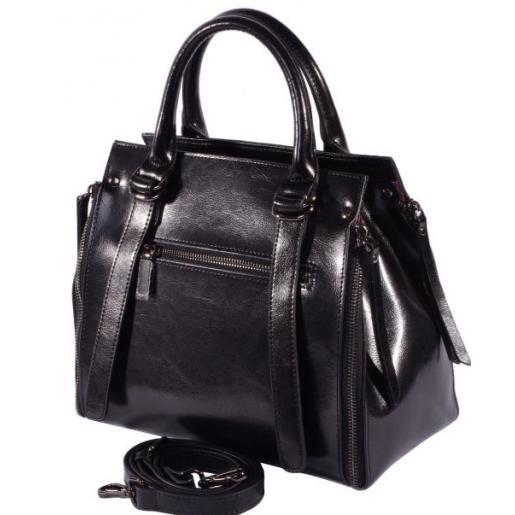 Женская кожаная сумка FD-600U03 Черный