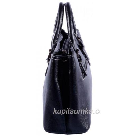 Женская сумка из натуральной кожи 31И06 Чёрный