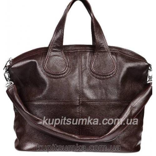Женская сумка кожаная PV22-4 Коричневый