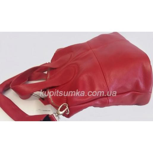 Женская кожаная сумка PV22-2 Красный