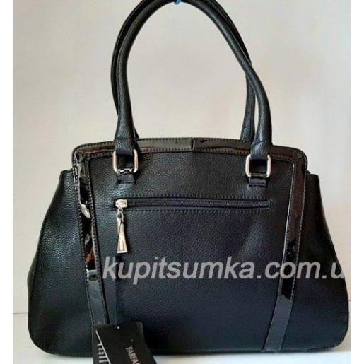 Женская сумка из кожзаменителя FR2028N Черный