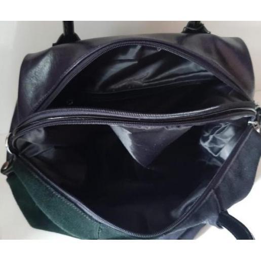 Женская сумка из замши Polina & Eiterou 010N