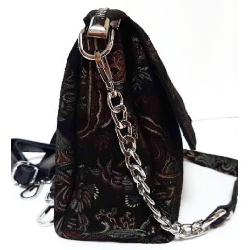 Женский кожаный клатч из цветной замши FR406N