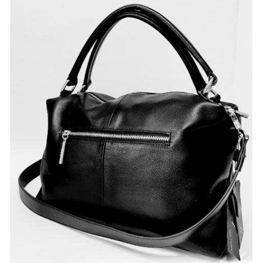 Женская сумка кожаная Polina & Eiterou 317N Черный