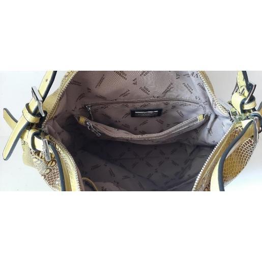 Кожаная женская сумка 182N Оливовый