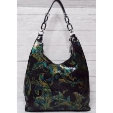 Женская кожаная сумка черная FR597-4N