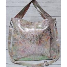 Женская кожаная сумка 308N beige