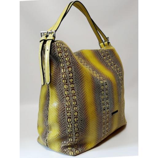 Кожаная женская сумка 182N оливковый